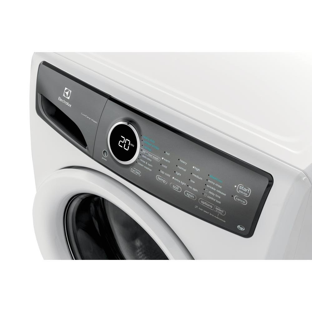 Electrolux Front Load Washer With Staintreat 43 Cu Ft White Washing Machine Wiring Diagram Rc Willey Furniture Store