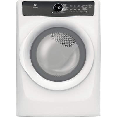 EFME427UIW Electrolux Perfect Steam Electric Dryer - 8.0 cu. ft. White