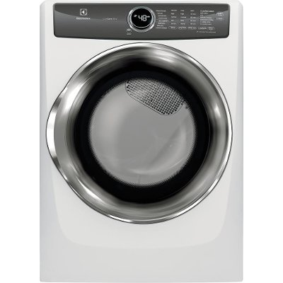 EFME527UIW Electrolux Electric Dryer with Perfect Steam - 8.0 Cu. Ft. White