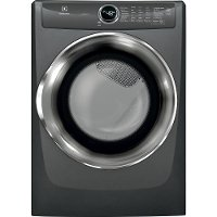 EFME527UTT Electrolux Front Control Electric Dryer with Steam - 8.0 cu. ft. Titanium