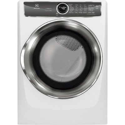 EFME627UIW Electrolux Electric Dryer with Predictive Dry - 8.0 Cu. Ft. White
