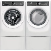 KIT Electrolux Front Load Washer and Dryer Set - White Gas