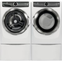 KIT Electrolux Front Load Washer and Steam Dryer Set  - White Electric