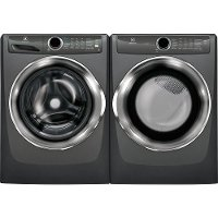 KIT Electrolux Front Load Washer and Gas Dryer Pair - Titanium
