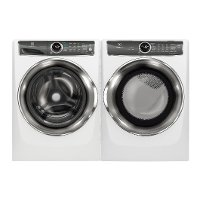 KIT Electrolux Front Load Washer and Dryer Pair - White Electric