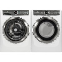 KIT Electrolux Front Load Washer and Dryer Pair - White Gas