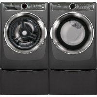 KIT Electrolux Front Load Washer and Dryer Set - Titanium Gas