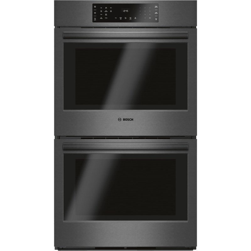 gas double wall oven 30 inch electric hbl8642uc bosch 30 inch double wall oven black stainless steel rc willey