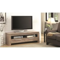 Weathered Brown Transitional 60 Inch TV Stand