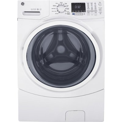 GFW450SSMWW GE Front Load Washer with Quick Wash -  4.5 cu. ft. White