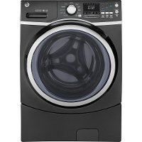GFW450SPMDG GE Front Load Washer with Quick Wash -  4.5 cu. ft. Diamond Gray