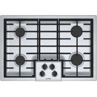 NGM5056UC Bosch 30 Inch 4 Burner Gas Cooktop - Stainless Steel