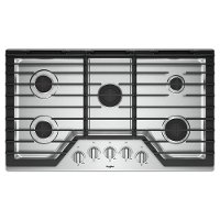WCG55US6HS Whirlpool 36 Inch 5-Burner Gas Cooktop - Stainless Steel