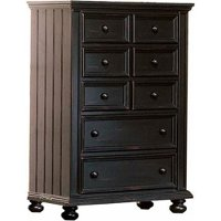 Classic Black Chest of Drawers - Cape Cod