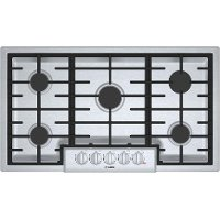 NGM8656UC Bosch 36 Inch 5 Burner Gas Cooktop - Stainless Steel
