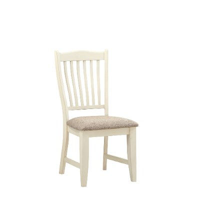 White and Gray Dining Room Chair - Grace