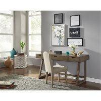 Contemporary Dusk Brown Lift Lid Desk - Study Hall