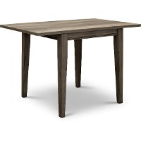 Gray Drop Leaf Dining Room Table - Tanners Creek