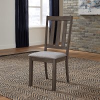 Gray Modern Dining Chair - Tanners Creek