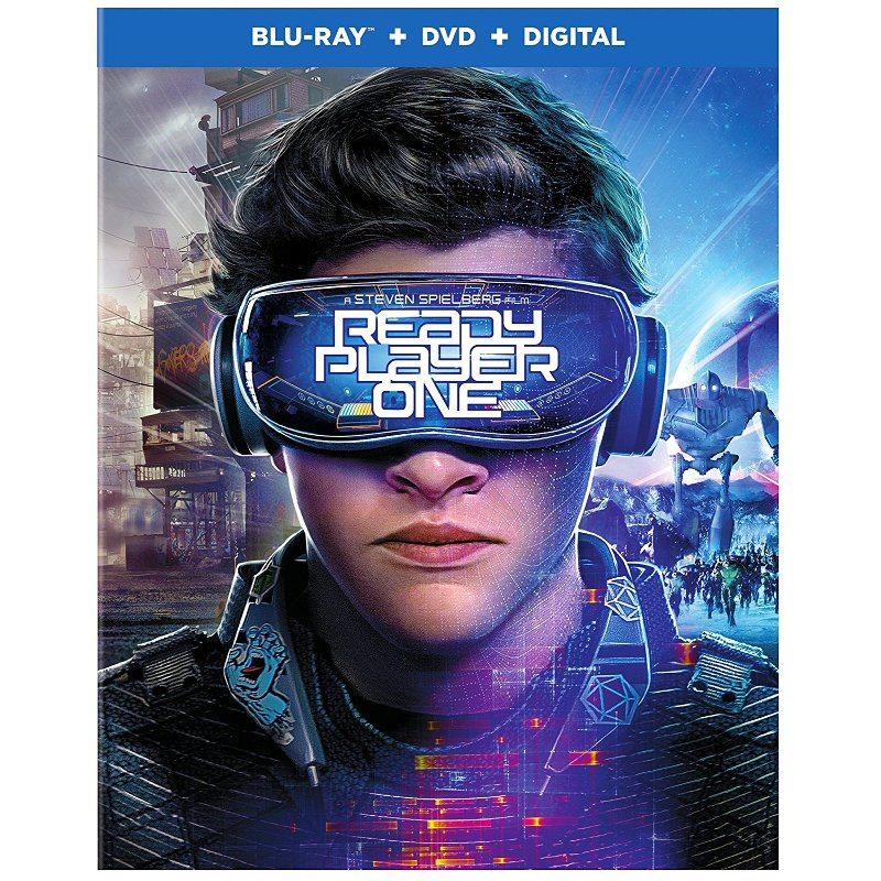 From filmmaker Steven Spielberg comes Ready Player One, a science fiction action adventure Blu-ray that's now available at RC Willey. The film takes place in the year 2045 and the world is on the brink of chaos and collapse. The people find salvation in the OASIS which is a virtual reality universe created by the brilliant James Halliday. When Halliday dies, he leaves a large fortune to the first person to find an Easter egg he has hidden in the OASIS that sparks a contest that grips the entire world. It's based on Ernest Cline's bestselling novel. Directed by Steven Spielberg, READY PLAYER ONE stars Tye Sheridan, Olivia Cooke, Ben Mendelsohn, Lena Waithe, T.J. Miller, and Simon Pegg. Blu-Ray DVD Digital Code Rated PG-13
