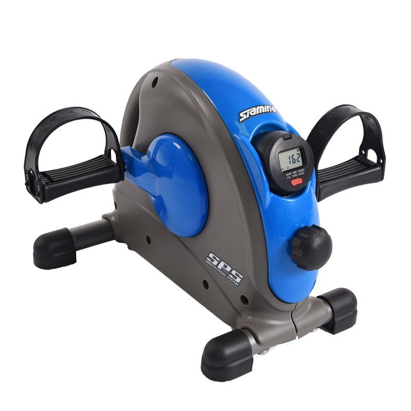 Stamina Mini Exercise Bike Blue