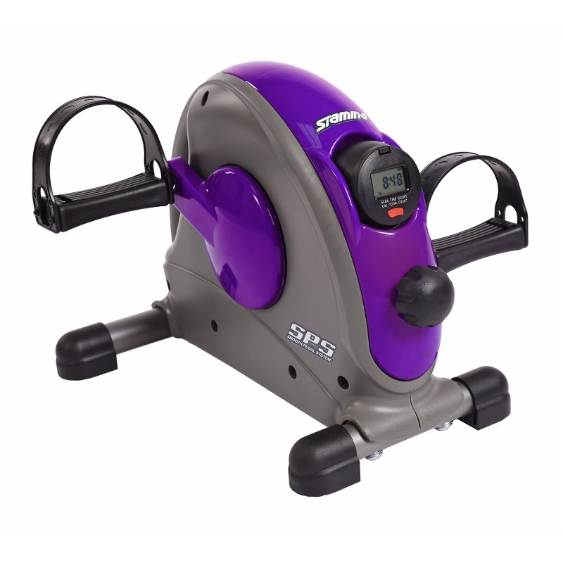 Stamina Mini Exercise Bike Purple