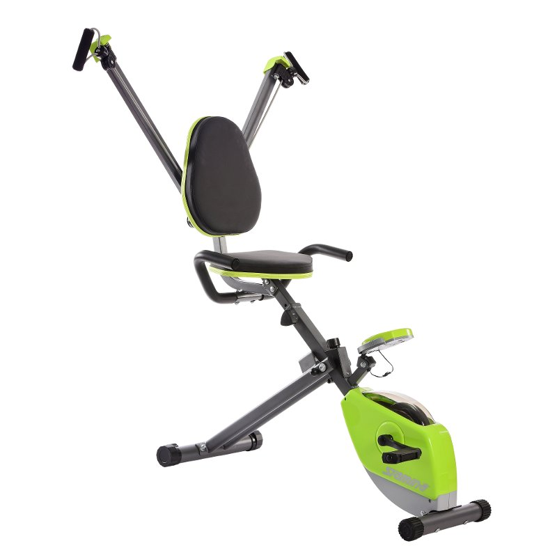 Stamina Exercise Bike with Whole Body Exerciser Green