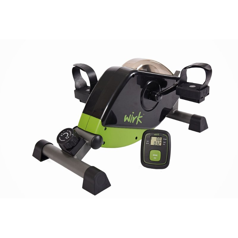 Wirk Under Desk Exercise Bike Green