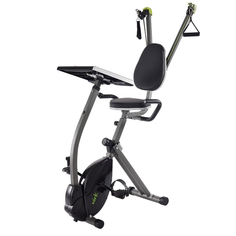 Wirk Recumbent Exercise Bike and Work Station