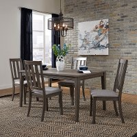 Gray Modern 5 Piece Dining Set - Tanners Creek