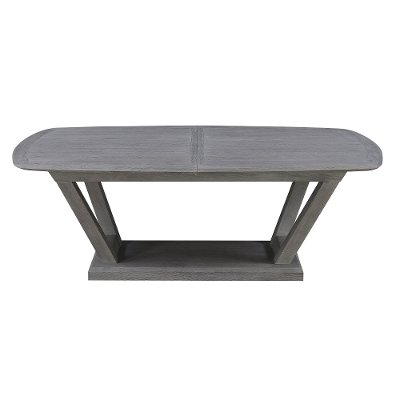 Slate Gray Dining Room Table - Carrera