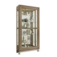 Brown China Cabinet
