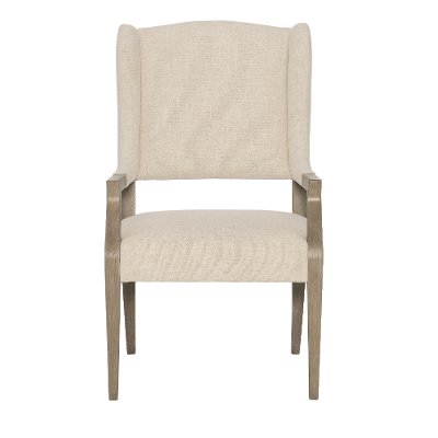Sandstone Upholstered Dining Arm Chair - Santa Barbara