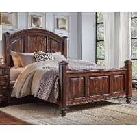 Classic Espresso Brown Queen Bed - Jamestown