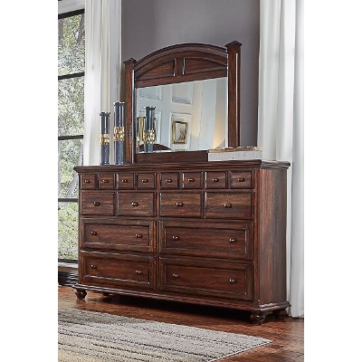 Classic Espresso Brown Dresser - Jamestown