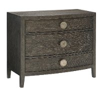 Rustic Modern Charcoal Gray Bachelor's Chest - Linea