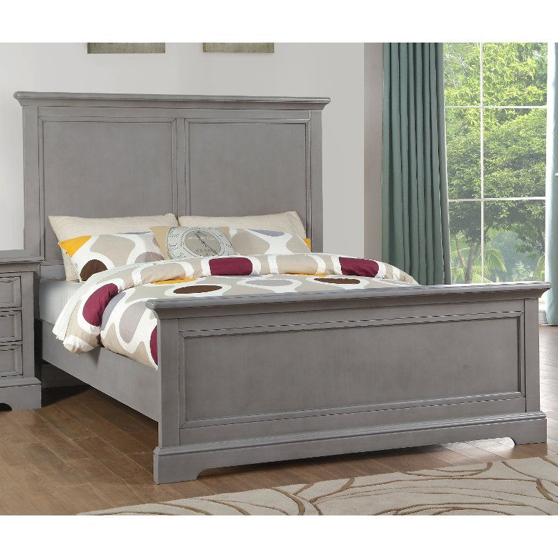 Casual Classic Gray Full Size Bed - Tamarack