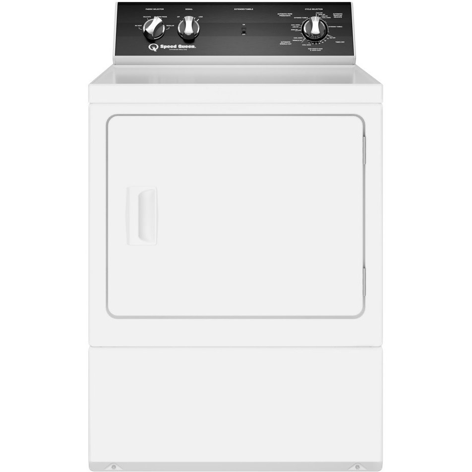 Speed Queen Electric Dryer - 7.0 Cu. Ft. White