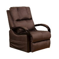 Walnut Brown Power Lift Recliner - Chandler
