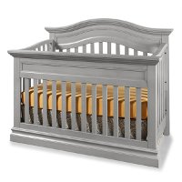 SH-CR-8001NR-CLD Classic Gray 4-in-1 Convertible Crib - Stone Harbor