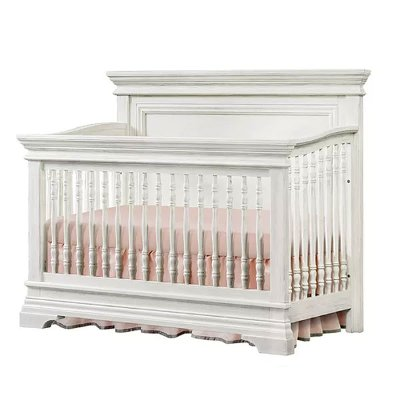 OL-CR-2201NR-BWH Classic Traditional White 4-in-1 Convertible Crib - Olivia