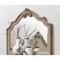 Traditional Country Natural Mirror - Monterey