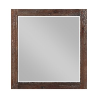 Classic Contemporary Cherry Mirror - Tremaine