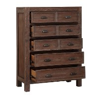 Classic Contemporary Cherry Chest of Drawers - Tremaine
