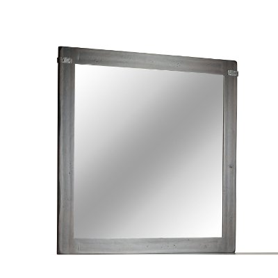 Rustic Classic Distressed Cherry Mirror - Colin