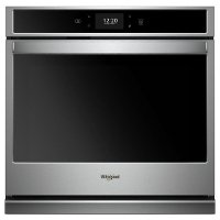 WOS72EC0HS Whirlpool 30 Inch Smart Single Wall Oven - 5.0 cu. ft. Stainless Steel