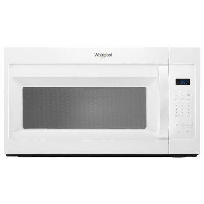 Wmh31017hw Whirlpool Over The Range Microwave 1 7 Cu Ft White
