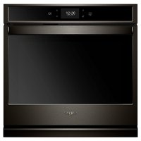 WOS72EC0HV Whirlpool 30 Inch Smart Single Wall Oven - 5.0 cu. ft. Black Stainless Steel