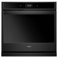 WOS72EC7HB Whirlpool 4.3 cu. ft. Smart Single Wall Oven with True Convection Cooking - Black