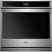 WOS97EC0HZ Whirlpool 30 Inch Smart Convection Single Wall Oven - 5.0 cu. ft. Stainless steel